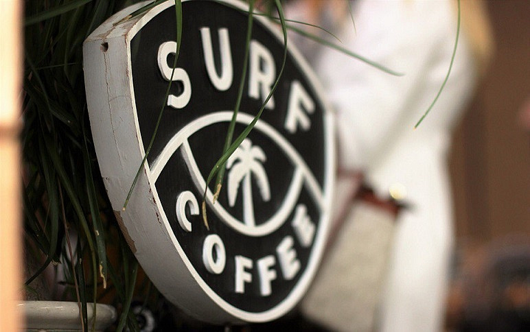 Кофейня Surf Coffee™ 1100 м, фото 1 - круглогодичный курорт «Роза Хутор»